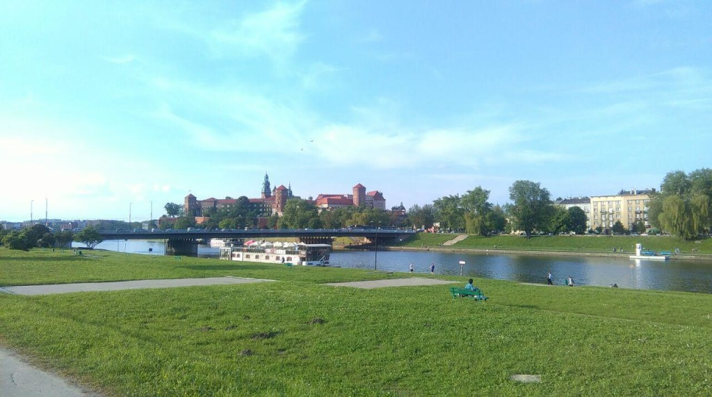Sunny Cracow, just like it should be in May